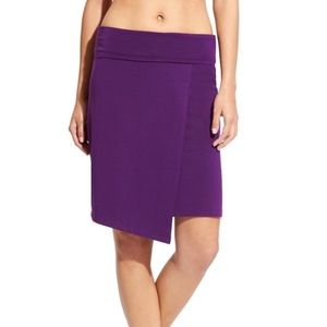 ✨NEW Athleta seaside fold over Purple skirt